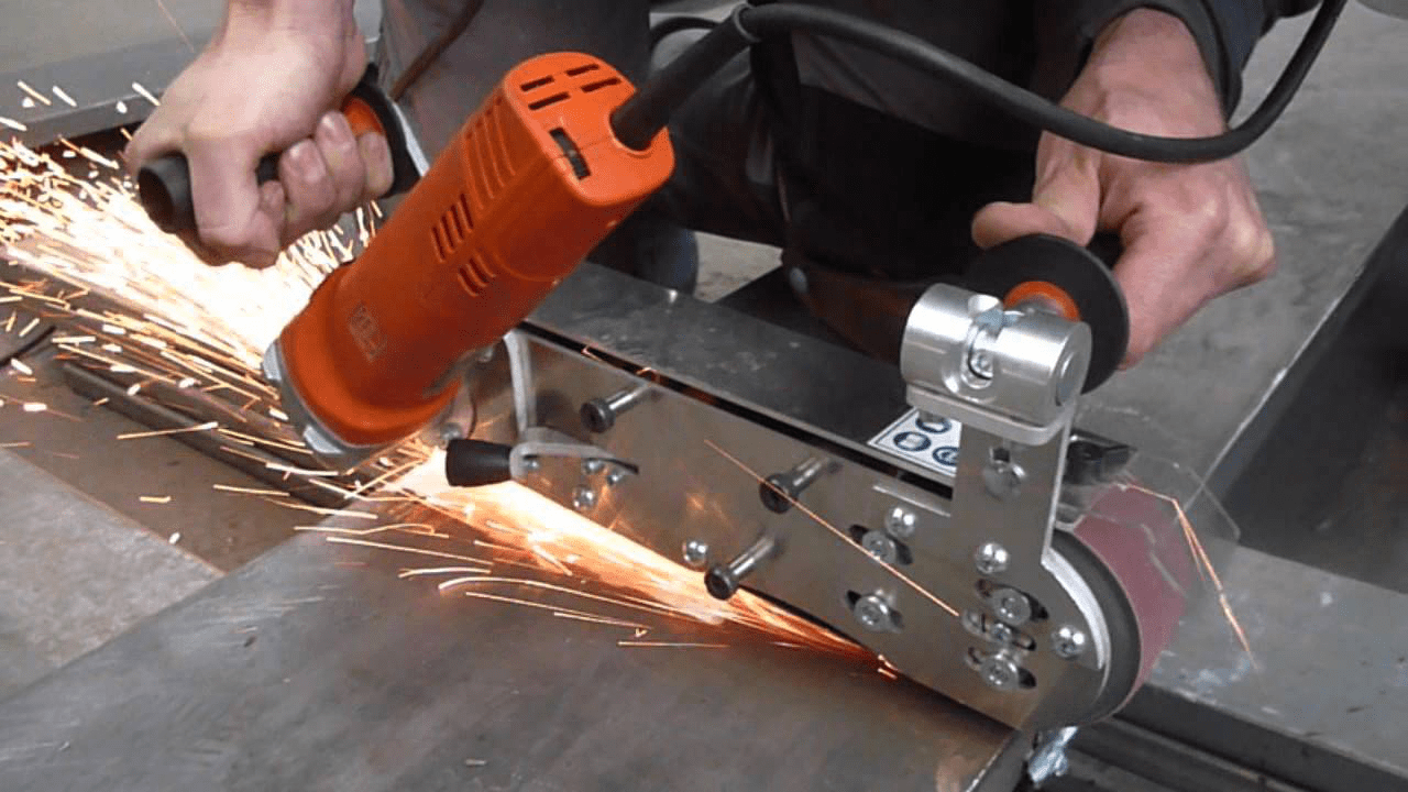 Grind and welding process
